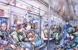 elegant watercolor painting